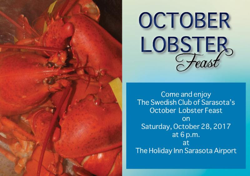Swedish Club of Sarasota Lobster Fest 2017!