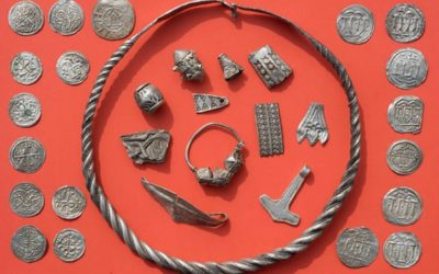 Boy unearths treasure of the Danish king Bluetooth in Germany